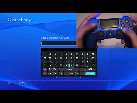 Use Dualshock 4 Motion Keyboard Typing - PS4 | How To + Comparison