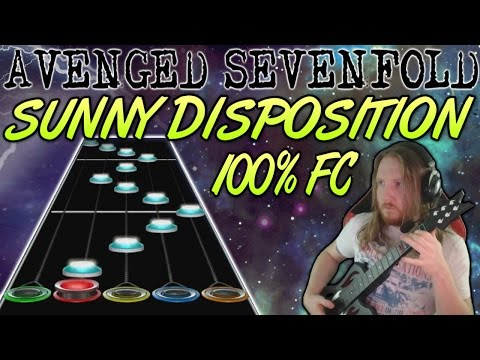 Avenged Sevenfold - Sunny Disposition 100% FC (Guitar Hero Custom -- The Stage)