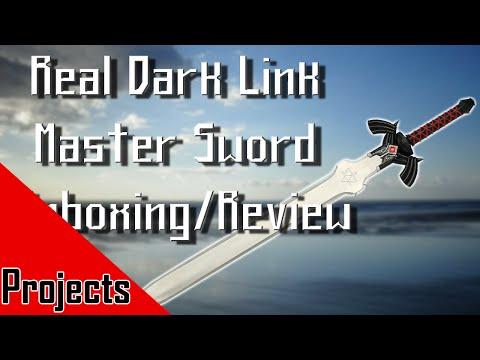 Dark Link Master Sword Unboxing/review