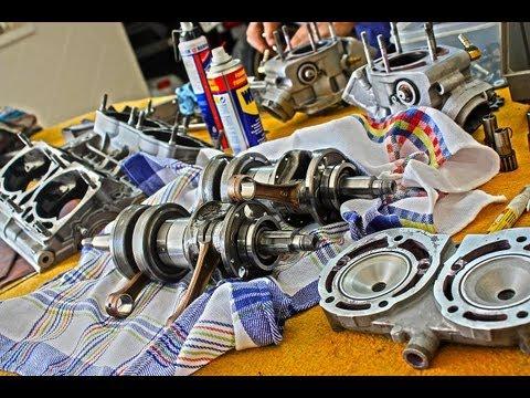 Yamaha RD 500 V4 || Engine Rebuild 1/3