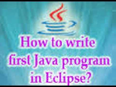 how to create simple java project in eclipse -very Detailed