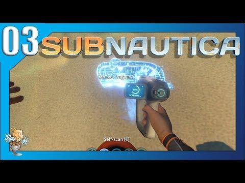 Subnautica Playthrough Part 3- Shipwreck Salvaging