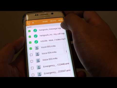 Samsung Galaxy S6 Edge: Transfer Files / Musics / Photos to Micro SD Card