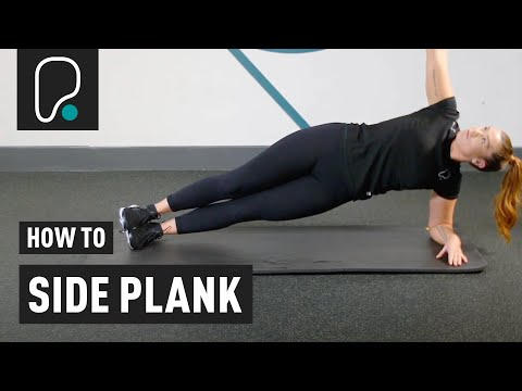 Ab Exercise - How to side plank