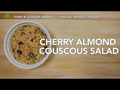 Cherry Almond Couscous Salad