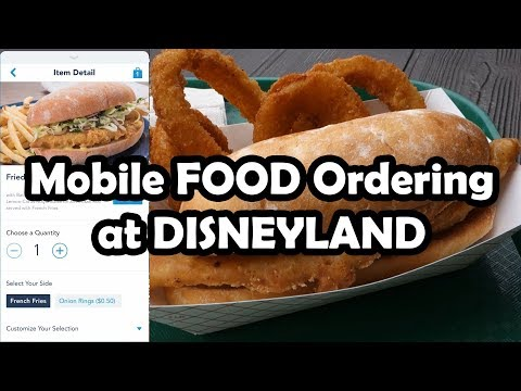 REVIEW: Disneyland's NEW Mobile Food Ordering Service