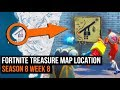 Fortnite Treasure Map Location Guide Season 8 Week 8 Challenges