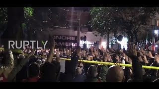 Italy: Thousands perform fascist salute at far-right