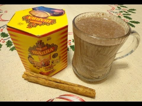 How to make Mexican Hot Chocolate Beverage Como hacer Chocolate Caliente