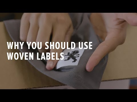 How to Increase Custom T-shirt Branding Using Woven Labels