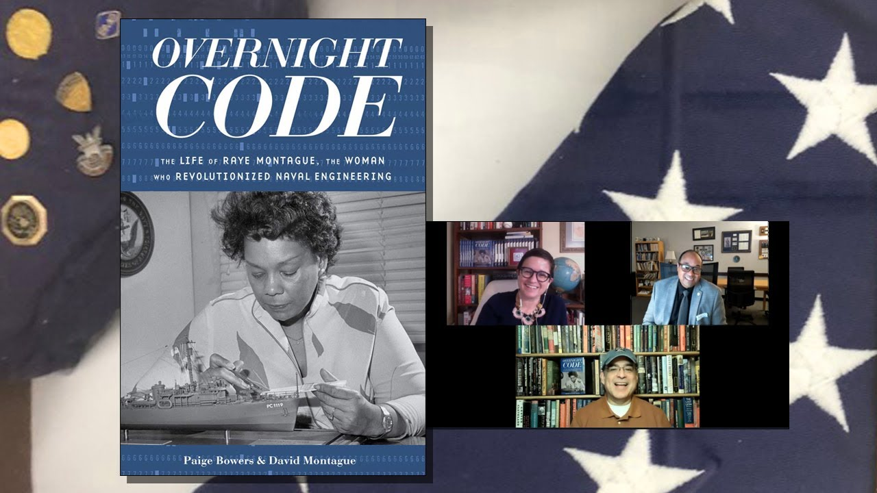 Paige Bowers & David Montague - Overnight Code: The Life of Raye Montague  - History Author Show