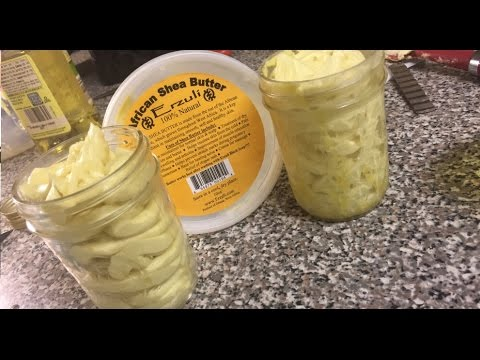 D.I.Y Whipped Shea Butter Recipe ⎮ Key__ahh