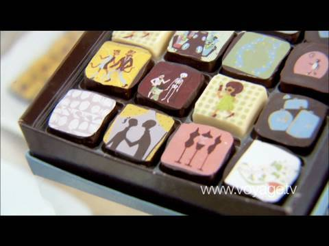Haute Chocolate at MarieBelle - New York City - Gourmet & Shopping - On Voyage.tv