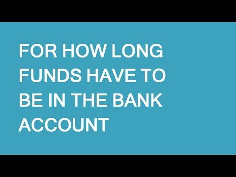 How long should you keep money in the bank for immigration to Canada. LP Group