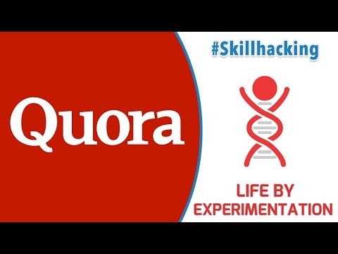 Using Quora as an Learning Tool (Quora Review | Life by Experimentation)