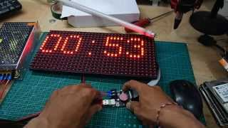 Arduino Project: Display Text On P10 LED module With Arduino