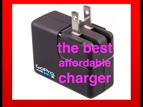 THE BEST AFFORDABLE CHARGER FOR GOPRO HERO CAMERAS
