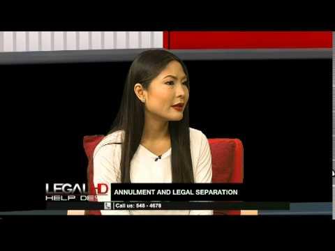 LegalHD Episode 80: Annulment & Legal Separation