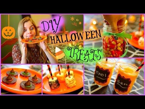 Easy DIY Halloween Treats!