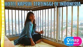 HOTEL KAPSUL TERTINGGI DI INDONESIA DENGAN VIEW KOTA