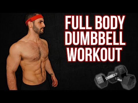 10-Minute FULL BODY Dumbbell Home Workout FOR BUILDING MUSCLE
