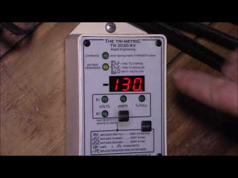Trimetric Battery Monitor on a 4S Lithium Ion Battery Bank