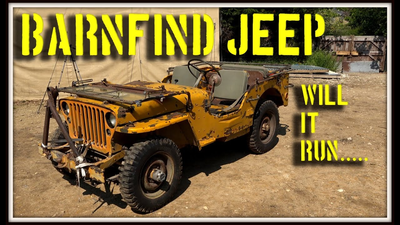 Awesome Barnfind Willys jeep and a BIG Dilema!!