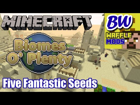 Biomes O'Plenty Seed Spotlight