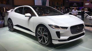 2018 Jaguar I-Pace world premiere walkaround at Geneva Motor Show 2018