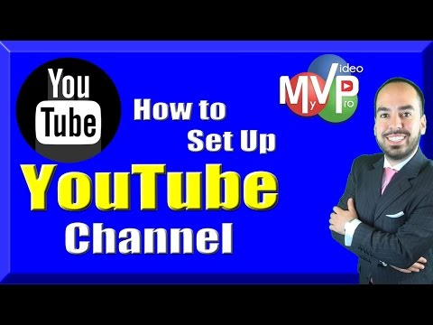 How to setup YouTube Channel (2016)