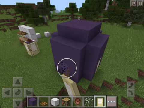 how to make a fishtank and a tardis in minecraft pe