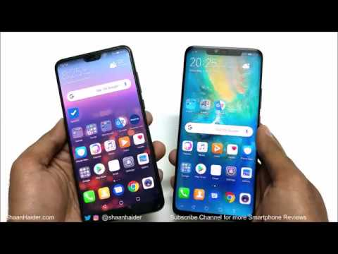 Huawei Mate 20 Pro vs Huawei P20 Pro - What's the Difference?