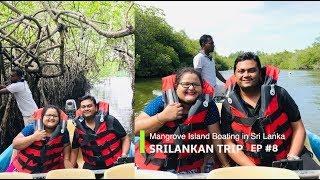 Mangrove Cave River Boat Ride in Ahungalla in Srilanka, EP #8
