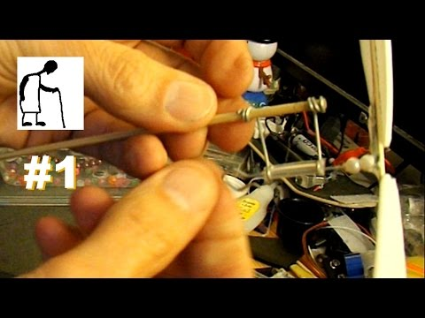 Rubber Band Plane Prop Assembly Demo Part #1