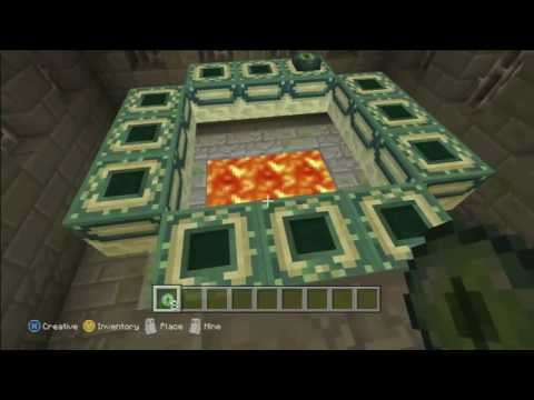 Minecraft Xbox360 - Quick Tips - End Portal (Finding and Opening)