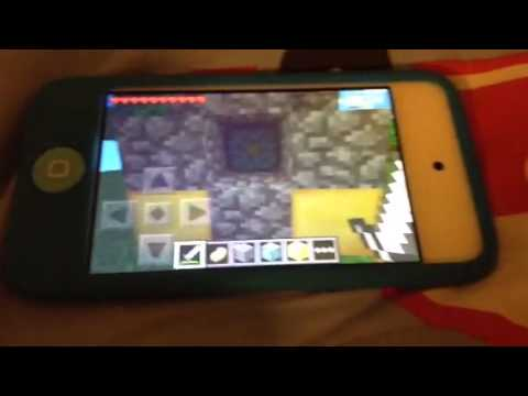 How to make a nether portal in Minecraft PE