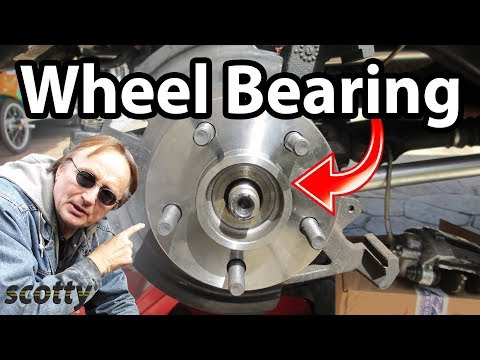 How to Replace a Rear Wheel Bearing in Your Car