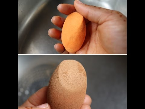 How To:  Clean & Sanitise Your Beauty Blender