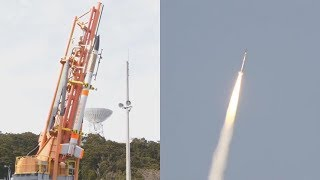 SS-520 No. 5 launches TRICOM-1R