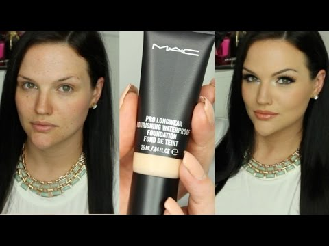 NEW MAC Pro Longwear Nourishing Waterproof Foundation | First Impression & Review