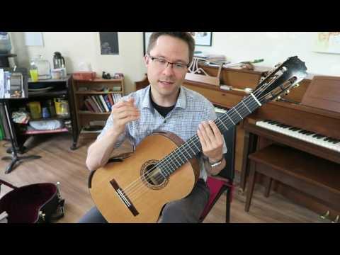 Lesson: Moderato by Carulli for Classical Guitar (easy)