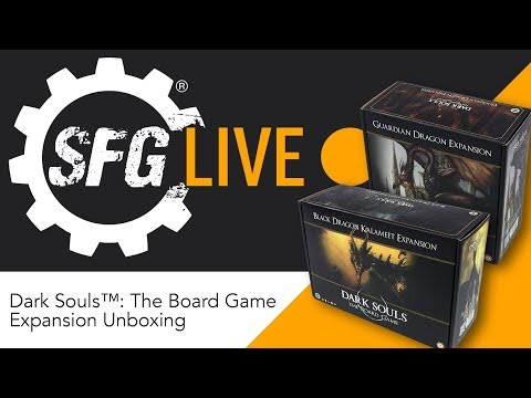 SFG Live: Dark Souls™: The Board Game Expansions Unboxing
