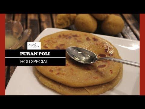 Puran Poli | How To Make Puran Poli Recipe | Holi Special | Simply Jain