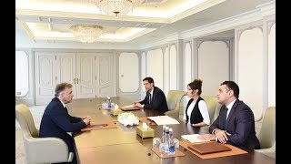Mehriban Əliyeva Fransa Senatının Fransa-Qafqaz dostluq qrupunun sədri ilə görüşüb