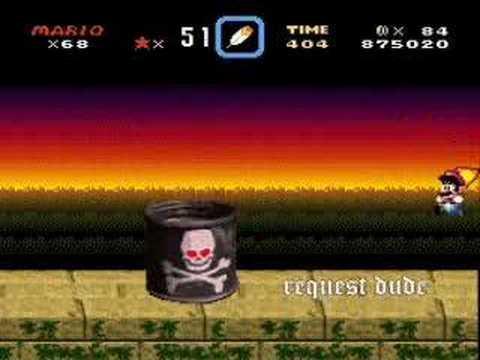 Brutal Mario - Boss Dumb Drum?