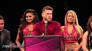 """CANELO ALVAREZ """"POINTS ASIDE WE GAVE BOXING A GREAT FIGHT!"""""""