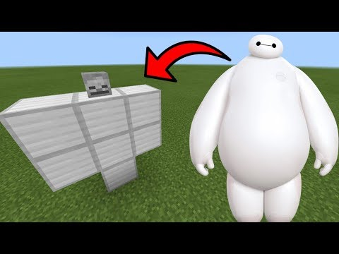 How To Spawn BAYMAX in Minecraft PE