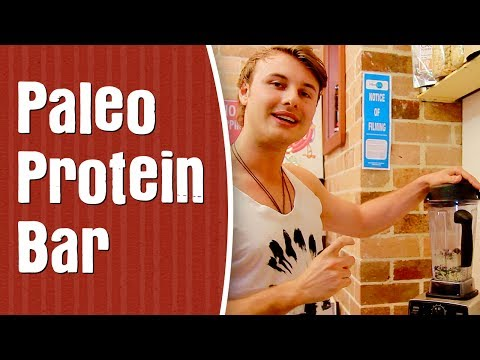 How To Make a Paleo Protein Bar — Awesome Protein Bar Recipe