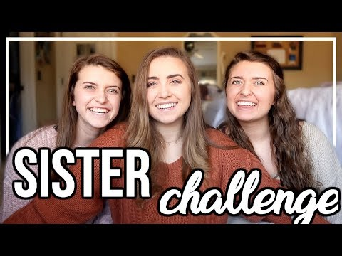 WHICH SISTER KNOWS ME BEST?! | The Sibling Challenge