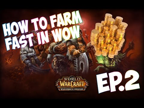 How to Get 1k to 3k Gold In World of Warcraft (Warlords of Draenor) No professions!